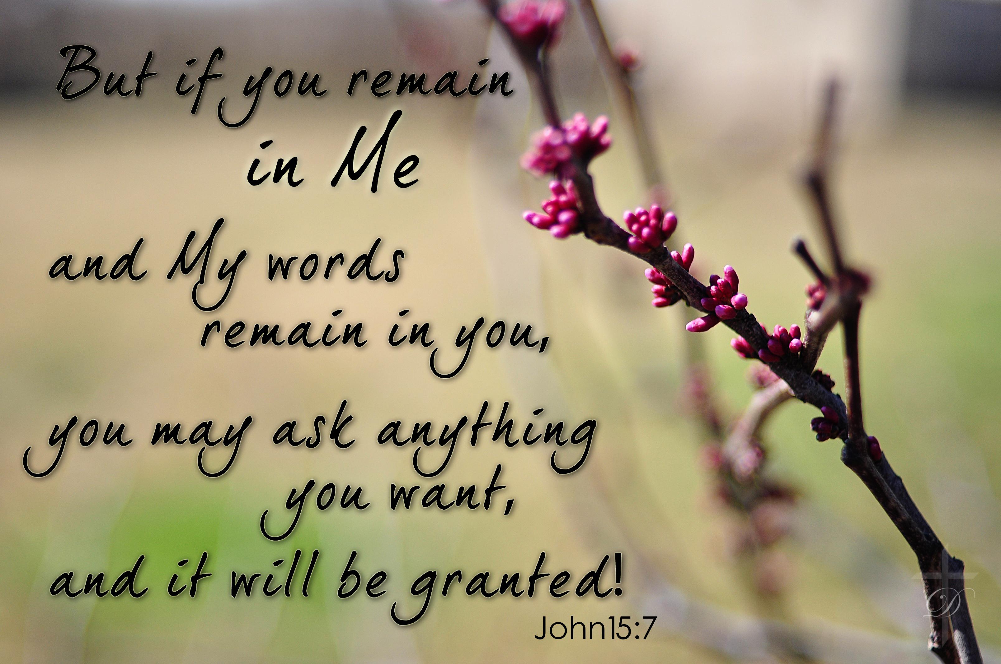 April s verse john 15 7 eastwoodtulsa s weblog